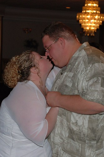 Kissing during our 2nd First Dance by you.