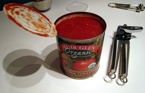 Canned tomatoes.
