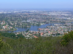 Lake San  Marcos from Double Peak Trail