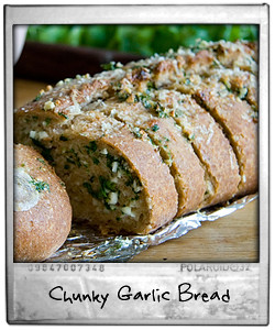 Chunky Garlic Bread