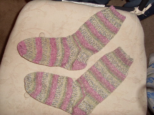Made from Premiere Yarns Serenity Sock Yarn, Hated It!