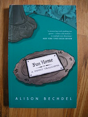 The cover of Fun Home: A Family Tragicomic by Alison Bechdel