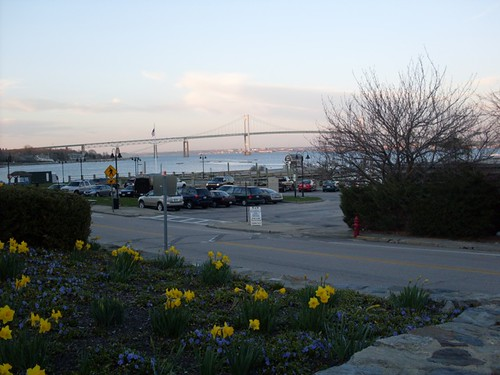 The Pell Bridge, Jamestown RI