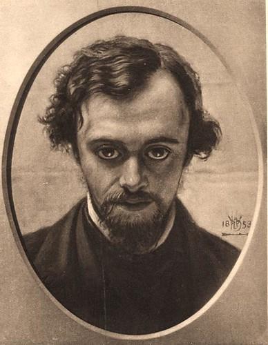 W. Holman Hunt of dante gabriel rossetti