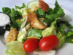 House Salad & Blue Cheese Dressing