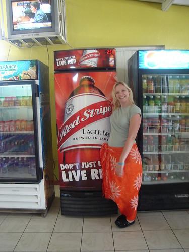 Red Stripe Vending Machine - DSC03688