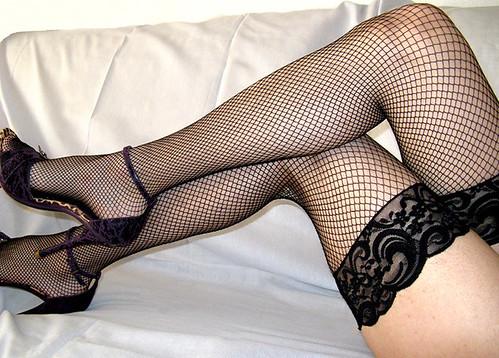 Mis enfundadas piernas ;)