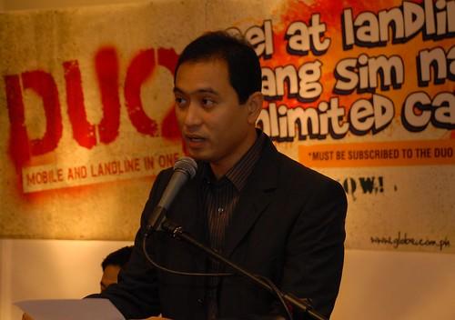 Ferdinand dela Cruz talks about Globe DUO