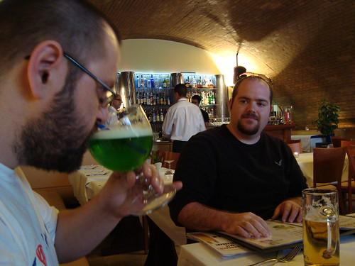 Jesse's Green Beer