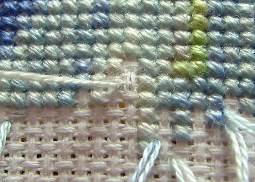 Pin stitch end 4