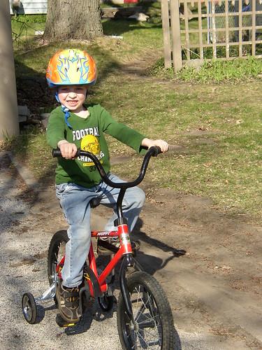 """1st """"big kid"""" bike!"""