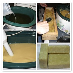 Crock Pot Soap Making