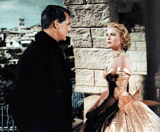 Cary and Grace in To Catch a Thief, 1955