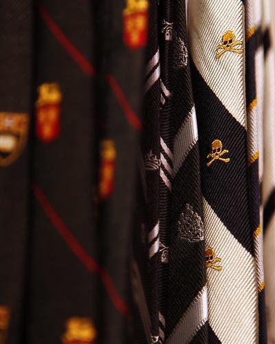 Skull tie from JPress Japan