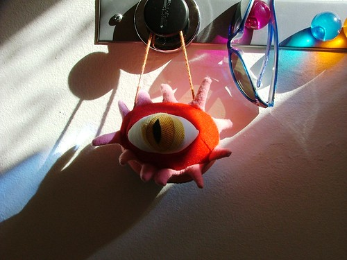 cotton monster evil eye by you.