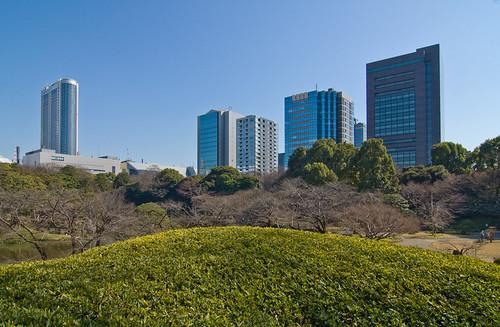 View from the Koishikawa Korakuen