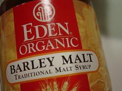 mmm, barley malt