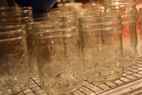 Sterilize your jars and make sure they are still hot before filling!