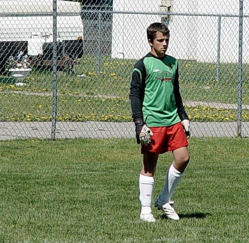 The Goalie....
