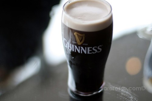 A Guinness pint ready for a first sip, Guinness Storehouse, Dublin, Ireland