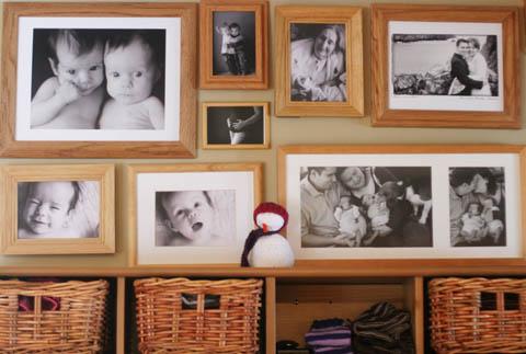 Mini Photo Wall