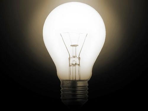 Light Bulb No. 1 by Caveman Chuck Coker, on Flickr