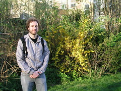 Paul at Abney Park Cemetery, London