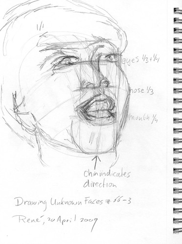 Drawing Unknown Faces, part 66 (3)