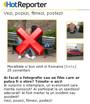 Moralitate si bun simt in Hotnews.ro