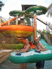 69 - Fun at the Waterbom waterpark in Kuta