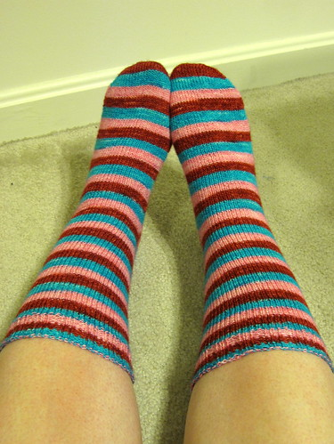 66/365: Striped Socks