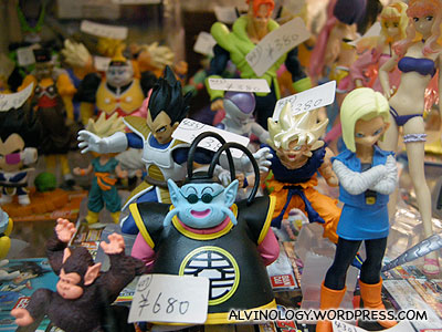 More Dragon Ball figurines