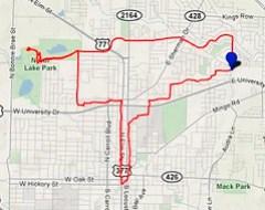 Bike Date Route