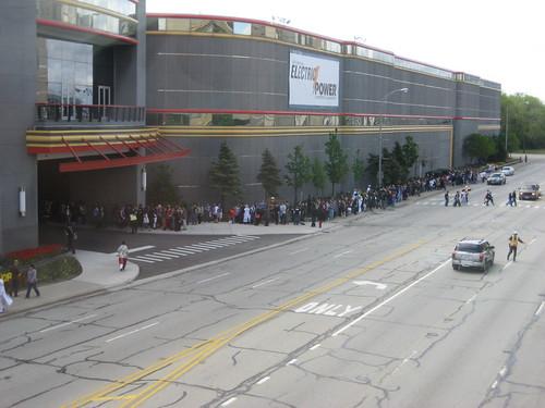 Registration line at Anime Central 5/9/2009