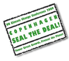 """COP15 : """"Seal the Deal ! """" / """"Concluons l'accord !"""" - PNUE - UNEP (conférence sur le changement climatique de l'ONU en 2009)"""