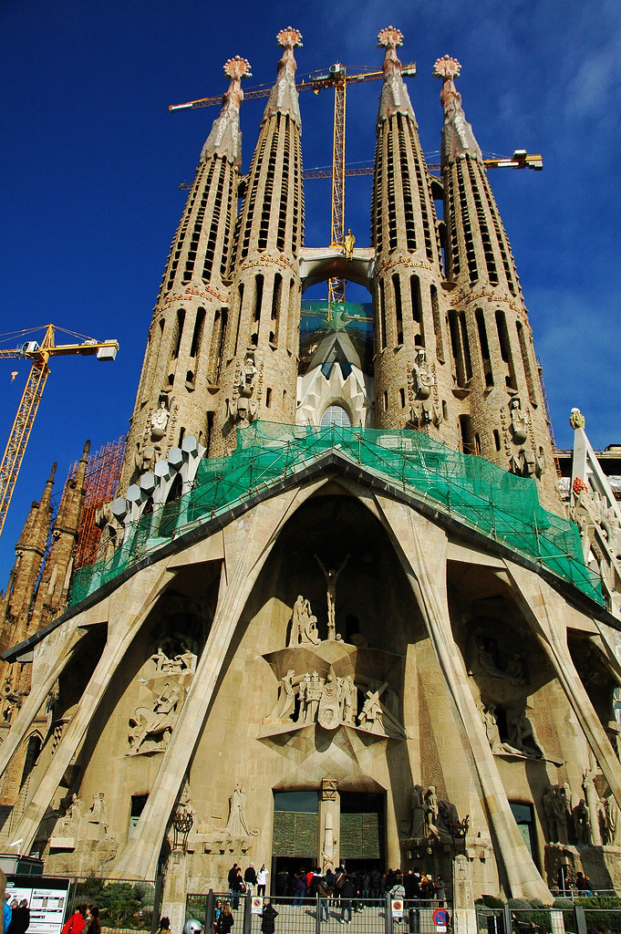 聖家堂. Sagrada Familia