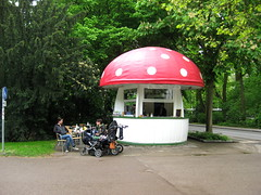 The shroom cafe in Regensburg
