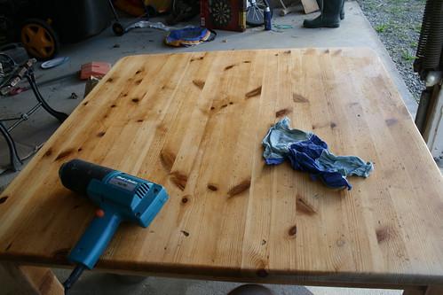 Honey Table Step 2