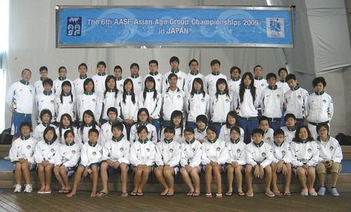 6AAG8081麥志權團長與游泳及跳水職運動員