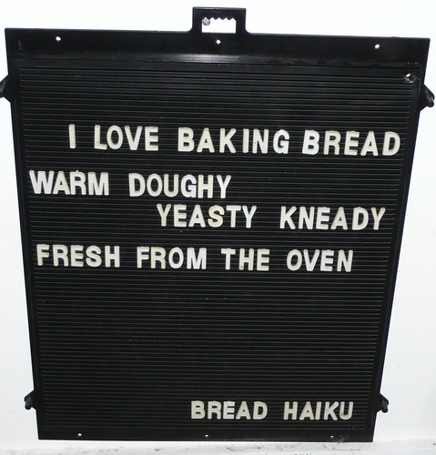 Bread Haiku March 6, 2009