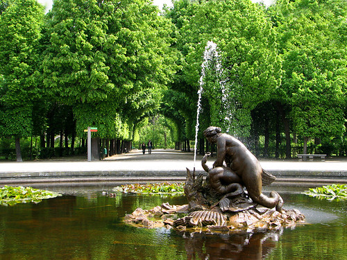 Fountain - Schonbrunn Palace by you.