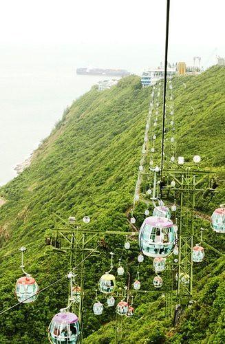 ocean park cable car