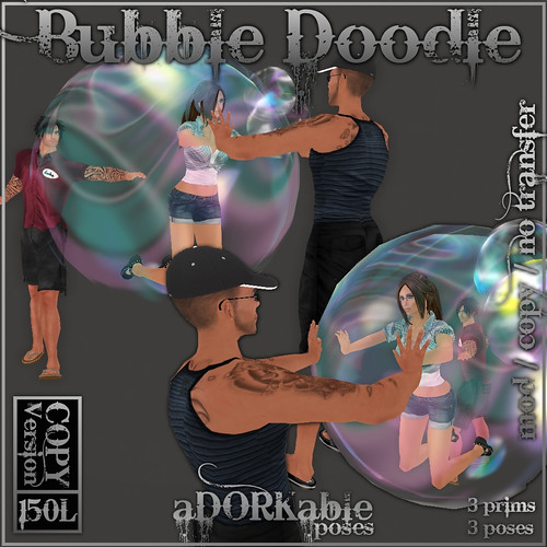 aDORKable Poses_ Bubble Doodle HQ @ The Deck