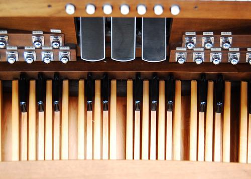 Grandma's organ.