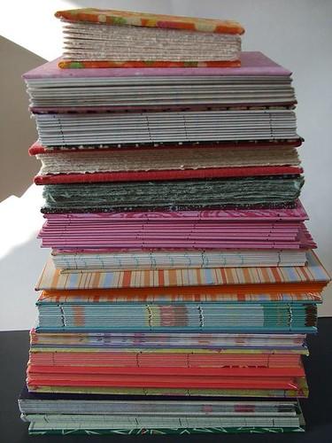 15 books in progress
