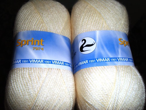 Acrylic skeins