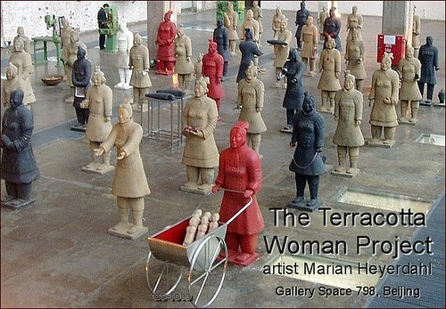 Beijing 798 :: Terracotta Woman Project