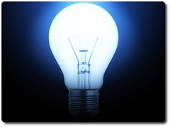 house staging light bulb
