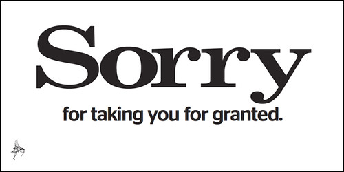 Evening Standard - Sorry