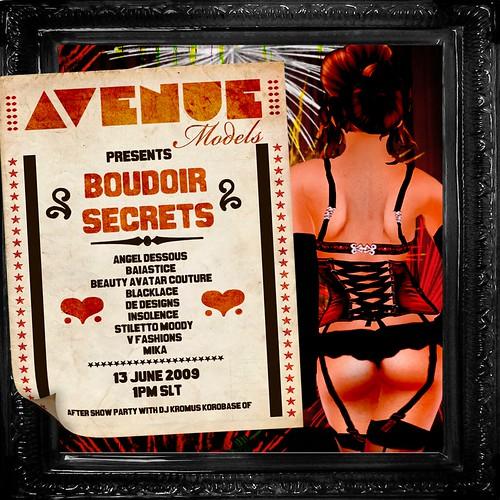 Boudoir Secrets INVITE